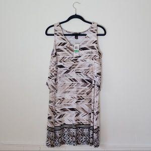 Style & co petite L super soft sleeveless dress
